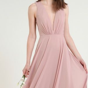 "Jenny Yoo ""Ryan"" bridesmaid dress in wisteria"